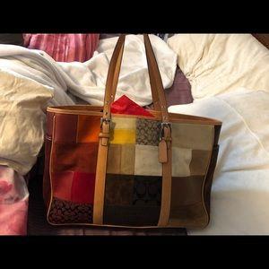 Coach purse needs tlc